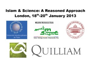 front page of Islam Science Workshop
